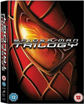 Spider-Man Trilogy (Box Set) [Blu-ray]