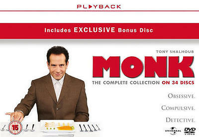 Monk: Complete Series (Box Set) [DVD]