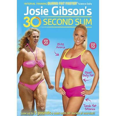 Josie Gibson's 30 Second Slim [DVD]