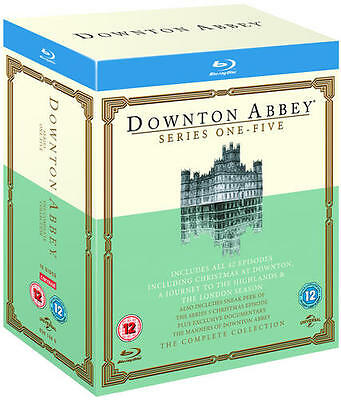 Downton Abbey: Series 1-5 (Box Set) [Blu-ray]