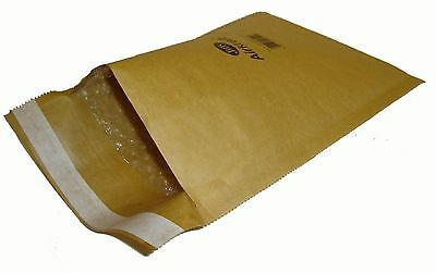 100 x JIFFY JL1 (GOLD) BUBBLE LINED BAGS ENVELOPES 170x245mm *OFFER*