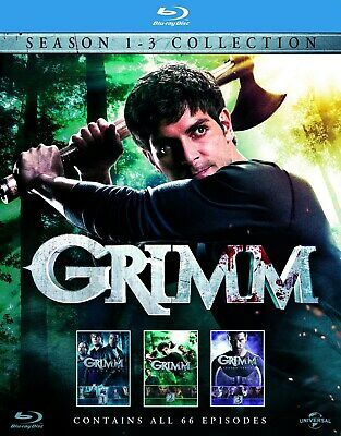Grimm: Season 1 - 3 Collection (Box Set) [Blu-ray]