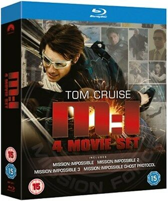 Mission Impossible 1-4 [Blu-ray]