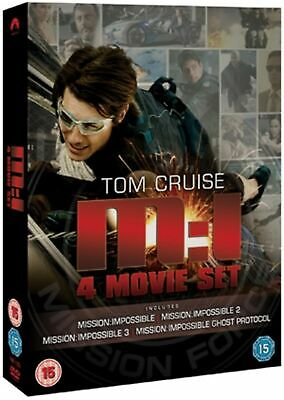Mission Impossible 1-4 (Box Set) [DVD]