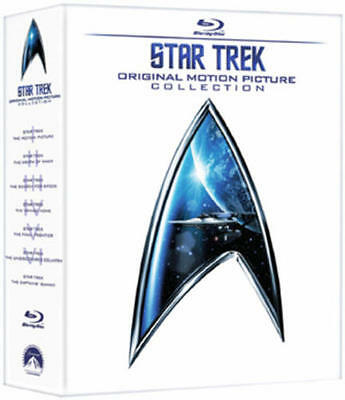 Star Trek: The Movies 1-6 (Box Set) [Blu-ray]