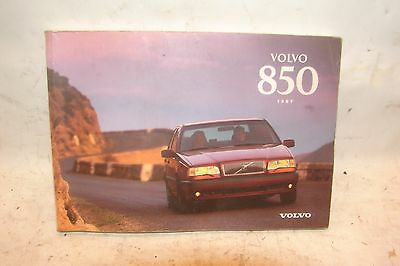 97 Volvo 850 owners manual