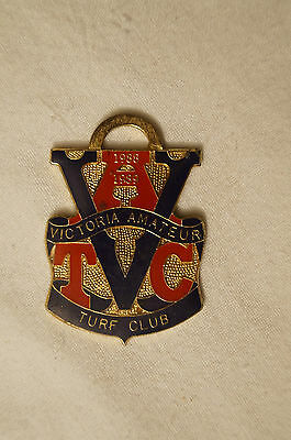 Collectable - 1988 - Horse Racing Badge - V.A.T.C. - Members Badge.