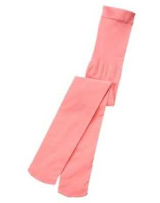 Gymboree Play By Heart Geranium Pink Solid Basic Tights 4 5 6 10 12 Nwt