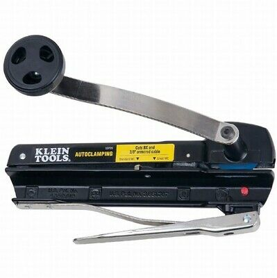 Klein Tool 53725 BX and Armored Cable Cutter Cuts BX and 3/8-inch Armored Cable