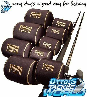 Shimano Fishing Tiagra Reel Covers Overhead (ALL SIZES) BRAND NEW @ Otto's Tackl