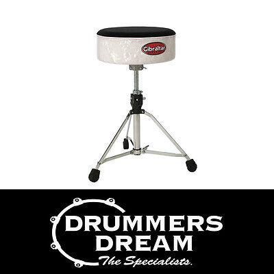 Gibraltar GI9708SFTWP  White Pearl Pattern Softy Drum Throne -Band New !