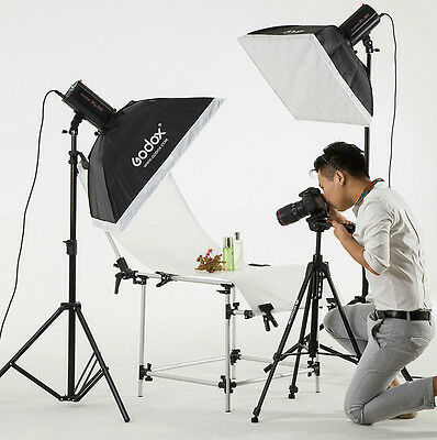 GODOX 2*160W MINI PIONEER160 Kits Photo Studio Flash Lighting 220V free ship