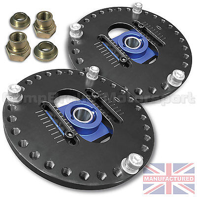 Renault 5 Gt Turbo  New Fully Adjustable Suspension Top Mounts (Pair) Cmb4455