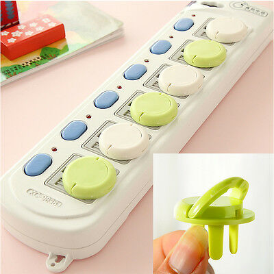 6Pcs Family Electrical Protective Socket Cover Cap Especially  For Kid's Safe