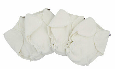Imse Vimse Frottee Baumwoll Windel-System Baby Terry Contour Diaper 4er-Pack