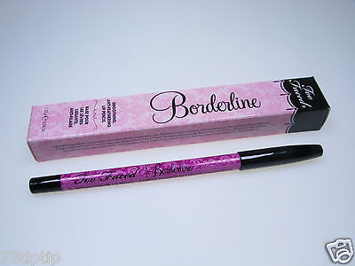 Too Faced -Borderline- Anti-feathering Lip Pencil Liner, Full Size & Boxed