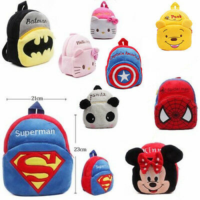 Boys Girls Kids Baby Animal Backpack Schoolbag Toddler Bag Rucksack Backpack