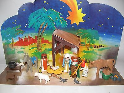 PLAYMOBIL~Christmas~Nativity~Magenta~Gold~Cape~Wise Men in Mauves~3996~5719