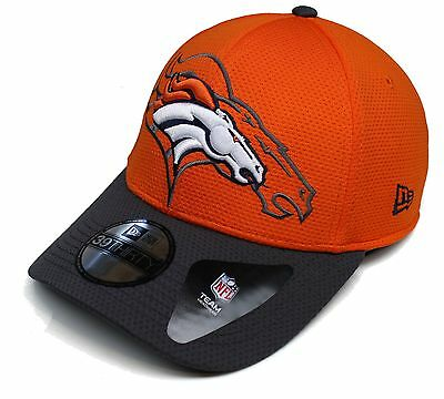 937bd3880 Adult New Era™ Denver Broncos Shadow Tech 39Thirty™ Hat Cap Size Med Large