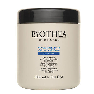 Byothea Anticellulite Mud, Slimming Body Wrap Mud, 1000 ml