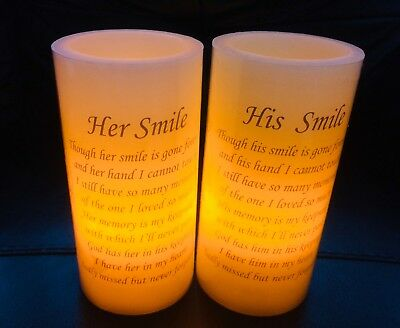 Flickering LED Battery Grave Memorial Remembrance Church Candle White Red Cross