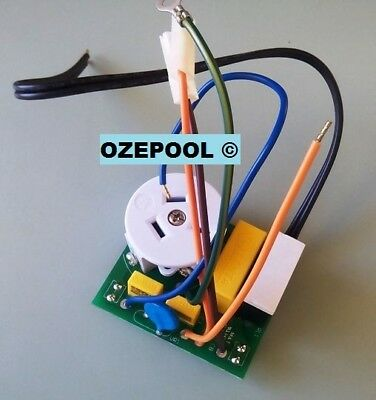 LM2/3 ZODIAC PUMP RELAY PCB, brand new from factory, the little one below power