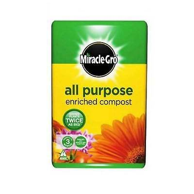Miracle-Gro All Purpose Garden Compost 50 Litres Growing Flowers Planting Soil