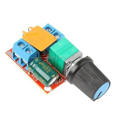 3V 6V 12V 24V 35V DC Motor PWM Speed Control Controller Speed Switch LED Dimmer
