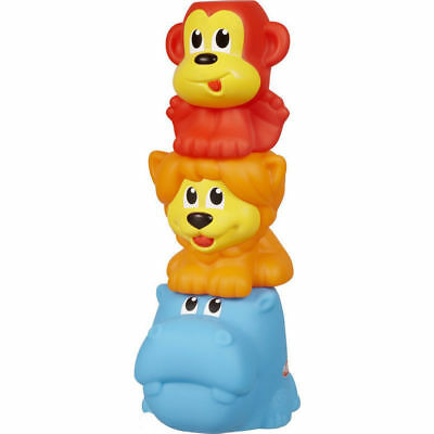 Playskool Poppin Park Stack n Squeak Cup Stacking Game 6+ Months