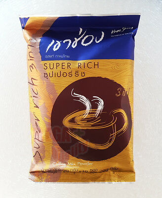 KHAO SHONG THAI INSTANT COFFEE MIX POWDER 3 in 1 Super Rich
