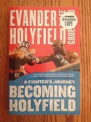 "Evander Holyfield Autographed Copy Book ""Becoming Holyfield"""