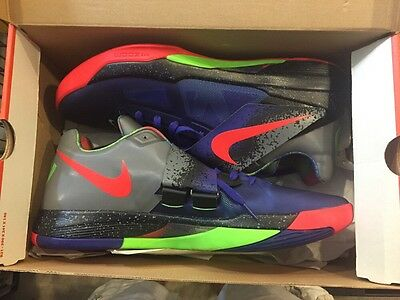 NIKE ZOOM KD 4 Nerf Kevin Durant 517408 SIZE 11 DS BRAND NEW ... 18921f02b