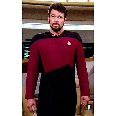 Star Trek Next Generation, Men's Uniform Jumpsuit Pattern Cosplay