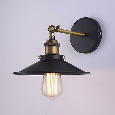 Industrial Metal Wall Lamp Retro Wall Light Rustic Wall Sconce Vintage Brass
