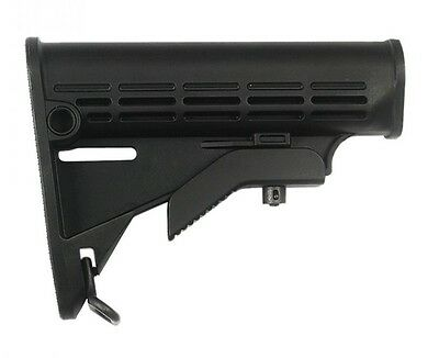 ZS100 IMI Defense Black Mil Spec and Commercial Polymer Enhanced Stock Polymer