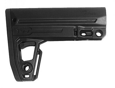 TS2 IMI Defense Black Mil Spec Polymer Tactical Stock Made of Polymer