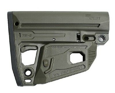 TS2 IMI Defense OD Green Mil Spec Polymer Tactical Stock Made of Polymer