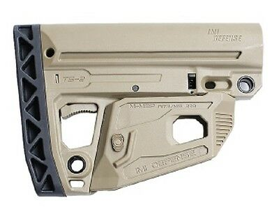 TS2 IMI Defense Tan Desert Mil Spec Polymer Tactical Stock Made of Polymer
