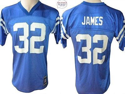 Maillot nfl Foot US américain COLTS N°32 James Taille Yth L (us) -> S (fr)