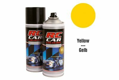 RC Car Colours - Lexan Spray Gelb 150ml (6.60 Euro pro 100 ml)