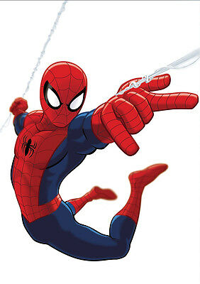 Sticker Autocollant Poster A4 Comics Marvel Spiderman. Amazing Peter Parker