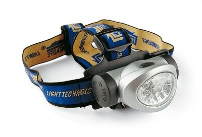 Kopflampe 8 LED Power