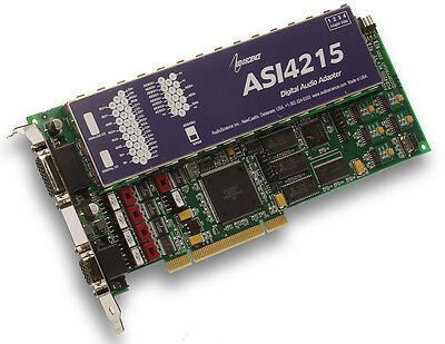 AudioScience ASI4215 Pro Broadcast Multichannel AES/EBU Digital & Balanced Audio