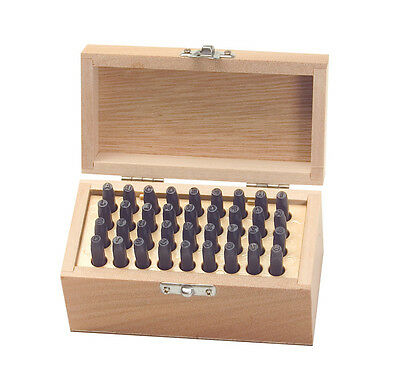 """36 Pc.number And Letter Stamp Punch Set 5/32""""- Warranty"""