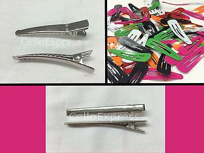 Value Plain Hair Clips - Snap And Alligator Clips - Choice Listing Findings