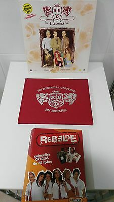 Rbd - Rebelde Amazing And Unique Collection On Ebay Worldwide Book + Fotos + Dvd