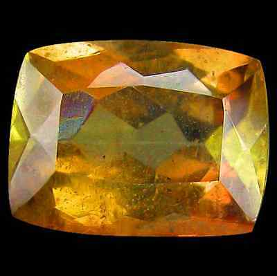 1.18ct Natural Cushion-cut Multi-Color/Brown SI Andulasite (Brazil)