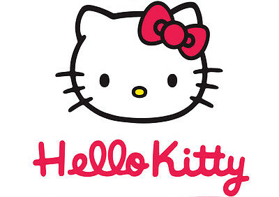 Sticker Autocollant Poster A4 Hello Kitty . Personnage Kitty N°14.