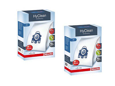 Genuine Miele GN HyClean C1, C2 C3, Cat & Dog 800 & 5000 Hoover Bags x 8