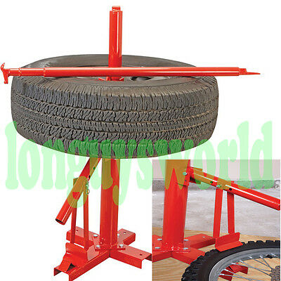 """Portable Wheel Tire Changer Auto Car Truck 8""""-16"""" Hand Operation No Air/electric"""